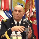 Odierno talks technology